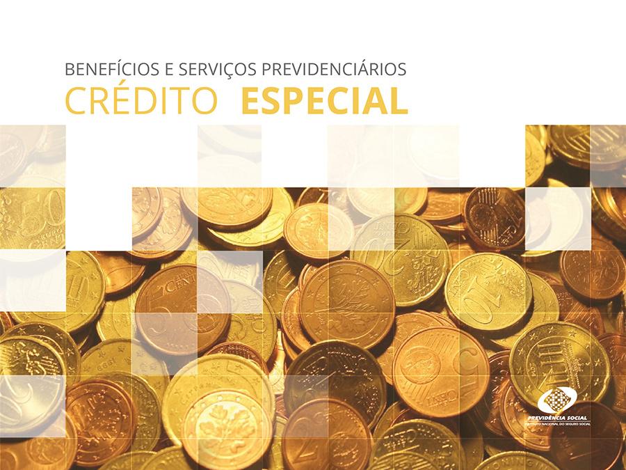 Capa do curso Crédito Especial, moedas espalhadas numa mesa